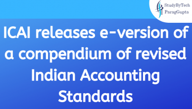 ICAI releases e-version of a compendium of revised Indian Accounting Standards