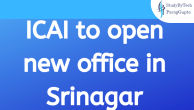 ICAI to open new office in Srinagar
