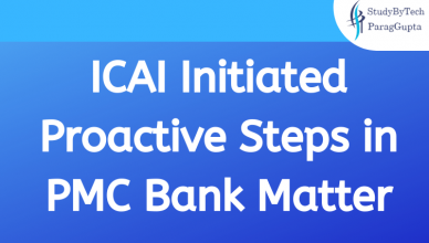 ICAI Initiated Proactive Steps in PMC Bank Matter