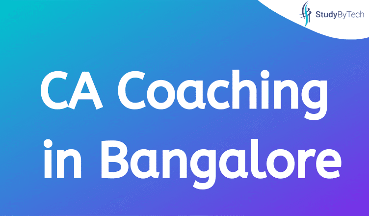 CA Coaching Bangalore