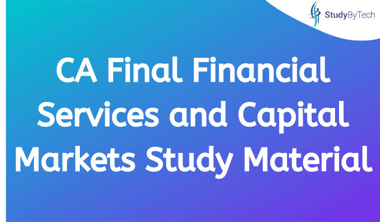 Final Financial Services and Capital Markets