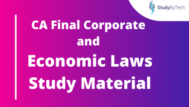 Corporate and Economic Laws