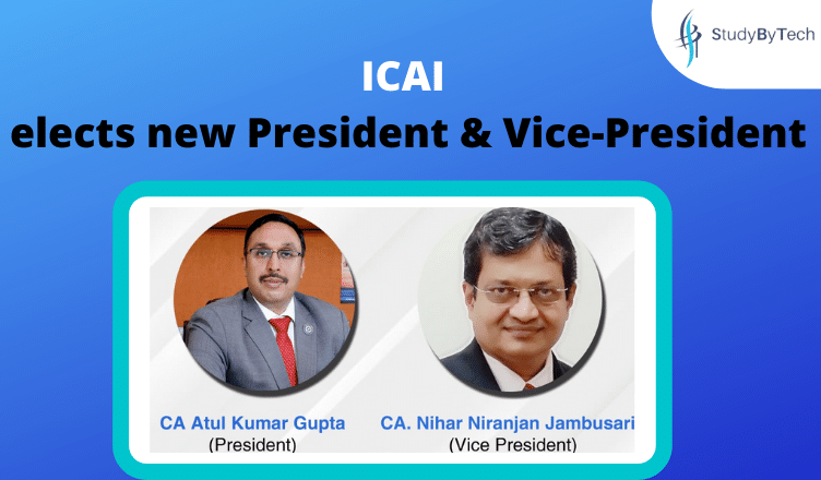 ICAI  elects new President & Vice-President