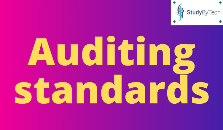 What is Auditing standards