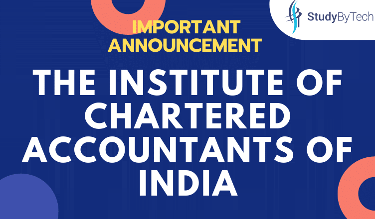 IMPORTANT ANNOUNCEMENT | The Institute of Chartered Accountants of India