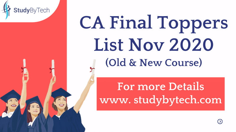 ca final topper list 2020 examination