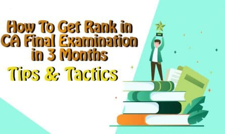 How to get Rank in CA Final Exams