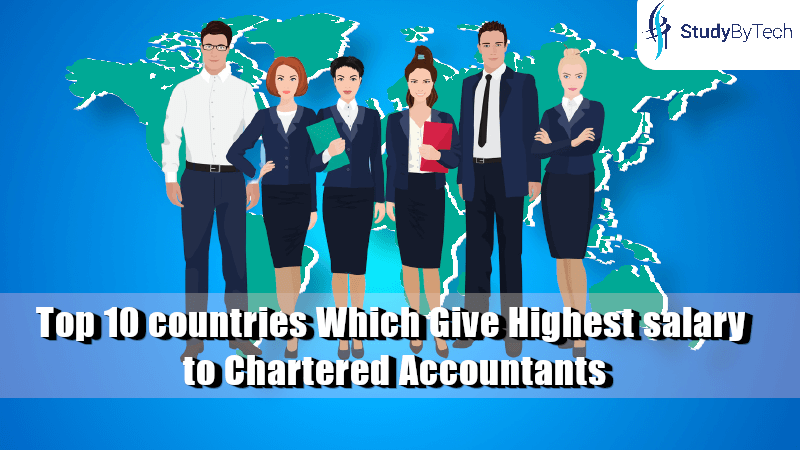 Top 10 countries Which Give Highest salary to Chartered Accountants
