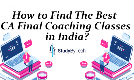 How to find the best ca final coaching classes in india