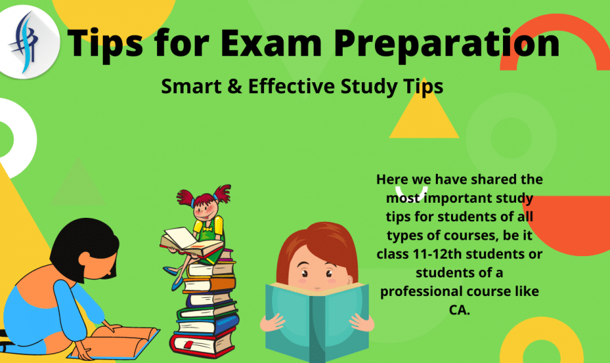 Smart & Effective Study Tips for Exam Preparation