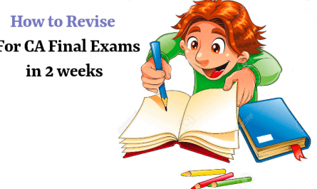 Revise For CA Final Exams