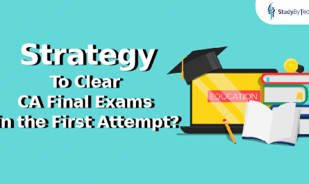What should be the strategy to clear CA Final Exams in the first attempt?