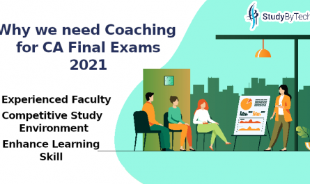 Why Do We Need Proper Coaching for CA Final Exams